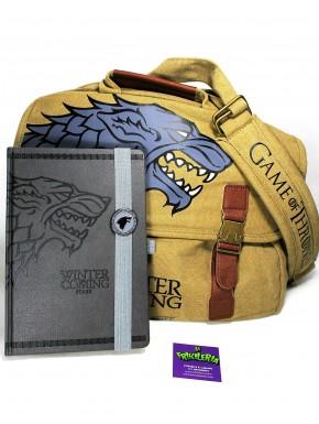 Pack Juego de Tronos Stark college