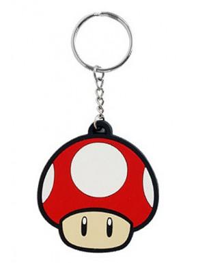 Nintendo llavero caucho Super mushroom