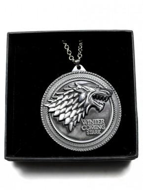 Medallón Stark Juego de Tronos