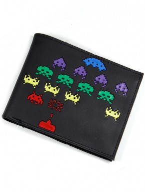 Cartera PVC Space Invaders