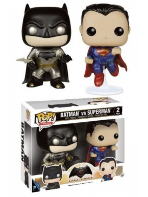 Funko POP Vinyl Batman + Superman DC