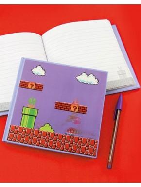 Libreta 3D Super Mario Level