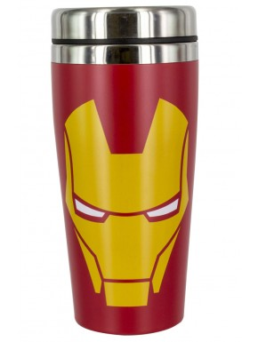 Vaso Termo Iron Man Face