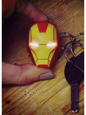 Llavero con luz Iron Man