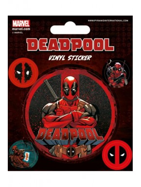 Set Vinilos adhesivos Deadpool