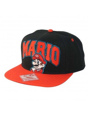 Gorra bordada Super Mario