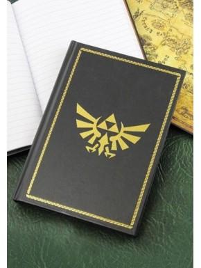 Libreta premium Zelda Trifuerza