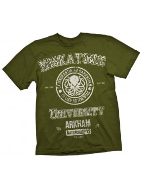 Camiseta Miskatonic University verde