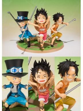 Luffy Ace Y Sabo Set 3 Figuras Figuarts