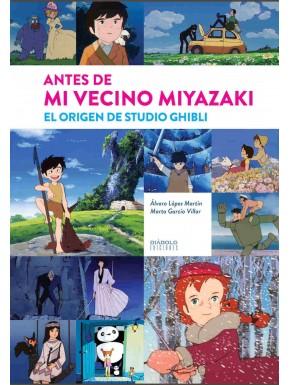 Libro Antes de mi vecino Totoro