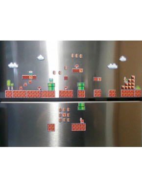 Set de 80 imanes Super Mario Bros