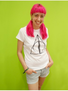 Harry Potter Camiseta Chica Reliquias