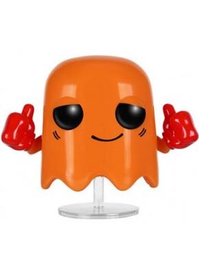 Funko Pop Clyde Pac-Man fantasm naranja comecocos