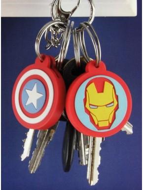 Set fundas de llaves Marvel