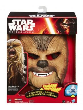 Máscara Electrónica Chewbacca con sonido