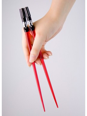 Palillos sable laser Darth Vader Star Wars