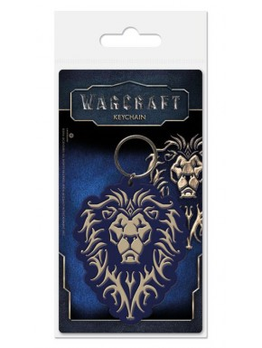 Llavero caucho La Alianza Warcraft