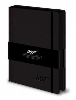 Libreta Premium A5 James Bond 007