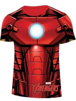 Camiseta niño Iron Man Armour