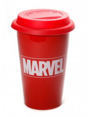 Taza de Viaje Marvel red