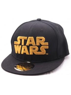Gorra Star Wars logo dorado bordado