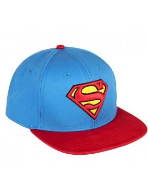 Gorra Superman Visera plana premium