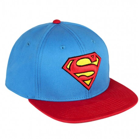 Gorra Superman Visera plana premium ba30633e787