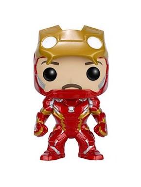 Funko Pop Iron Man sin máscara