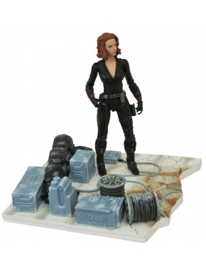 Figura Marvel Select Viuda Negra 18cm