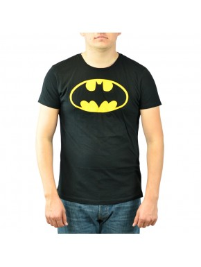 Camiseta logo amarillo Batman
