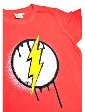 Camiseta Vintage de Flash