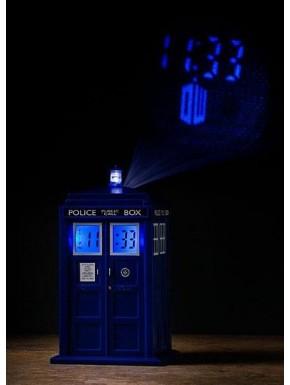Reloj despertador proyector Doctor Who