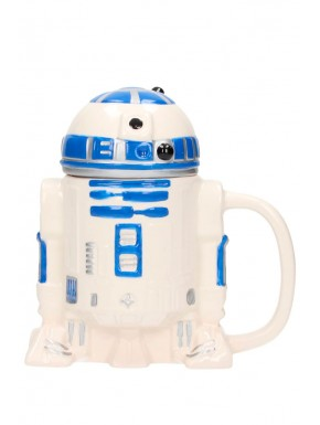 Taza con tapa R2D2 Star Wars