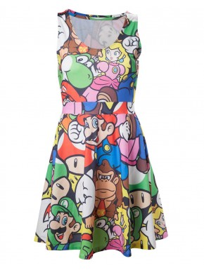 Vestido Mario and Friends