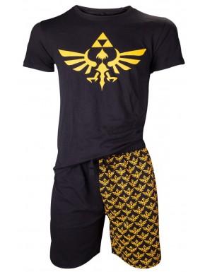 Zelda pijama corto Trifuerza