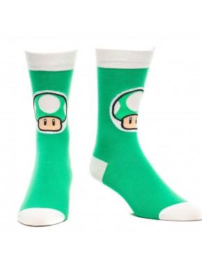 Calcetines Super Mario Mushroom
