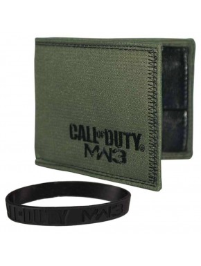 Cartera y pulsera Call of Duty MW3