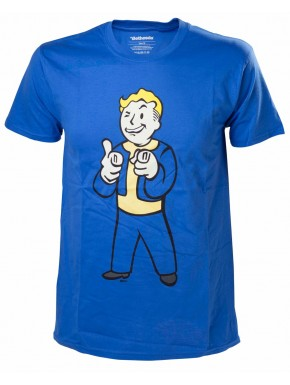 Camiseta Fallout Vault Boy fingers