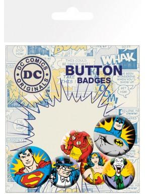 Chapas DC Comics villanos