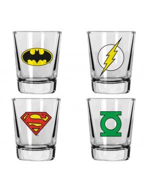 Vasos chupito DC Comics