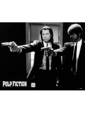 Poster Pulp Fiction Guns 40x50