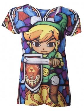 Camista Zelda chica vidrieras colores sublimation