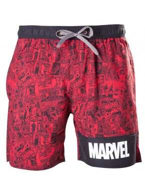 Bañador chico Marvel red