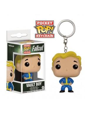 Llavero Mini Funko Vault Boy Fallout