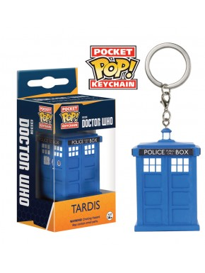 LLavero mini Funko Dr Who Tardis