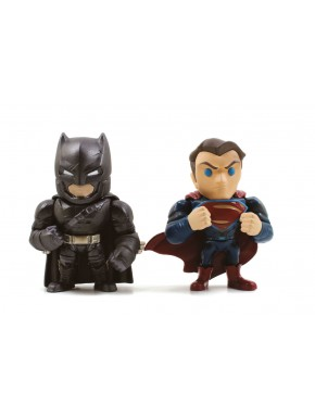 Set 2 figuras Batman vs Superman Jada