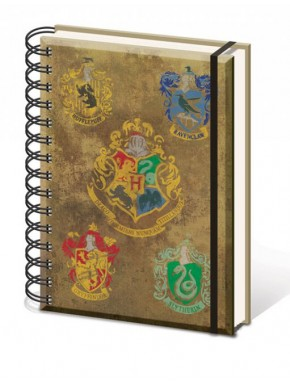 Libreta A5 Harry Potter Hogwarts