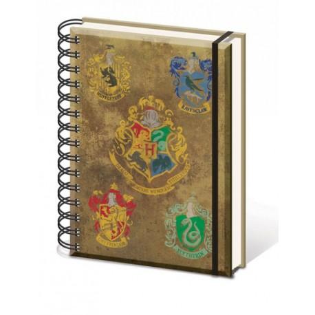 Libreta A5 Harry Potter Hogwarts