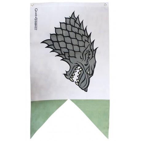 Bandera Stark Juego de Tronos