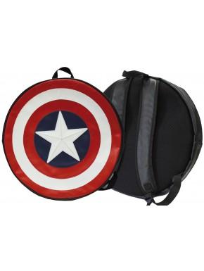 Avengers mochila escudo de Capitán América